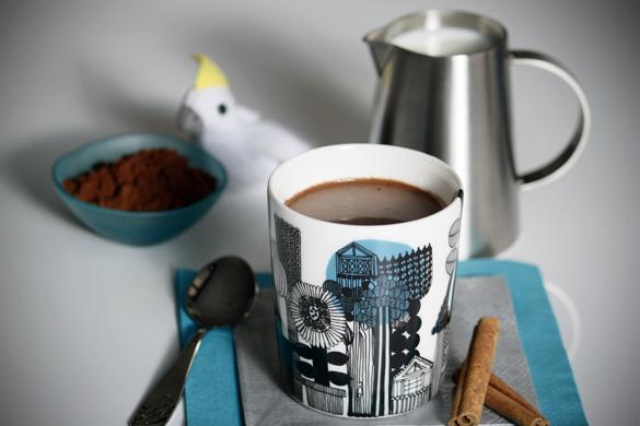 uong cacao nong