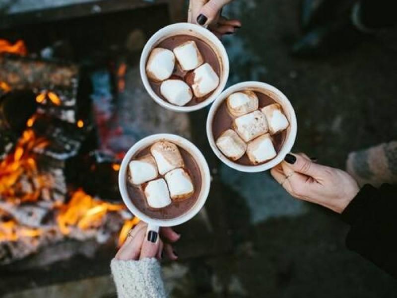 Thưởng thức cacao nóng vào những ngày đông cuối năm