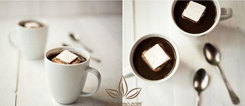 pha cacao nhanh