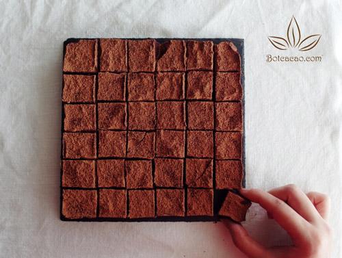 làm chocolate tươi 1