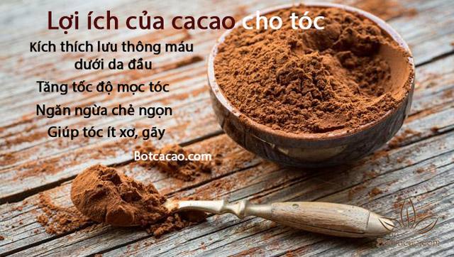 mặt nạ dưỡng tóc mềm mượt cacao