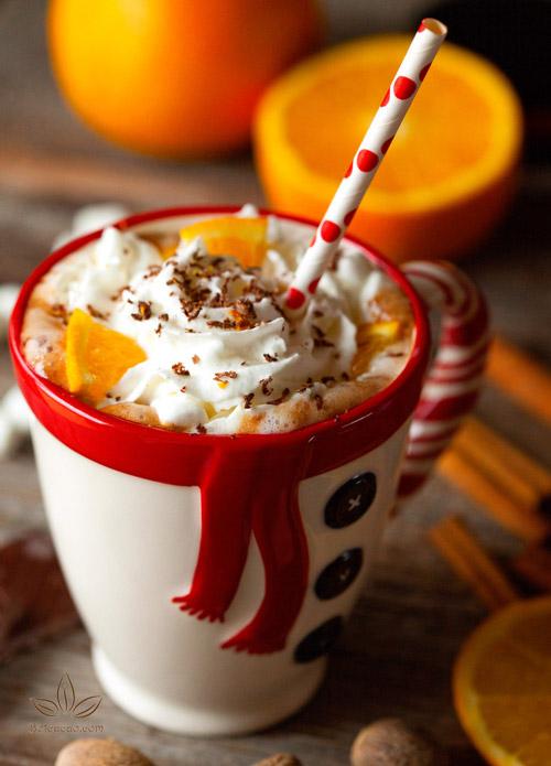 sữa cacao cam