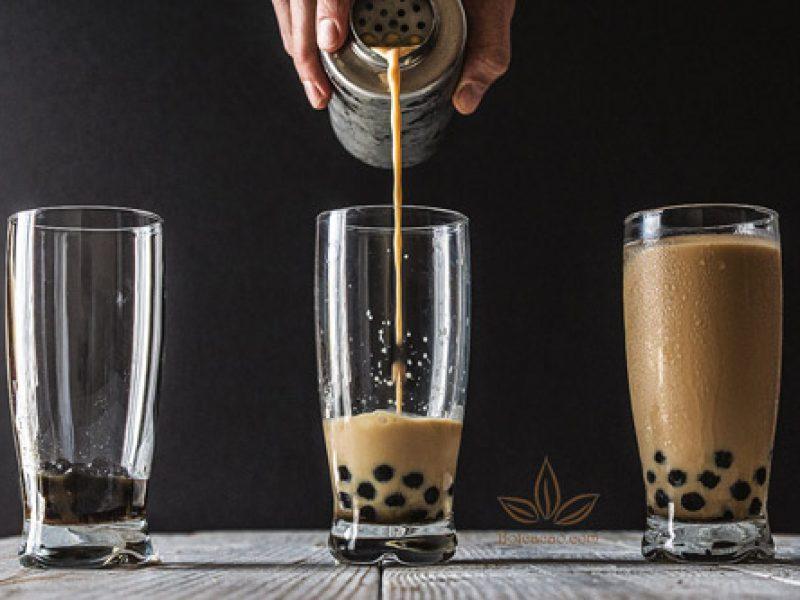 Tự pha trà sữa trân châu socola tại nhà ngon hơn quán