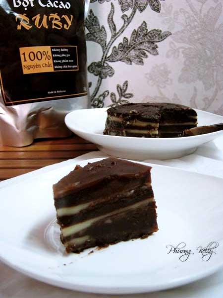 bánh da lợn cacao