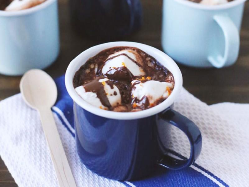 Bật mí công thức pha chocolate cam nóng thơm ngon