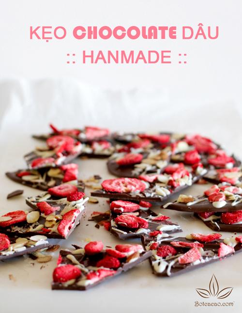 làm kẹo chocolate 2