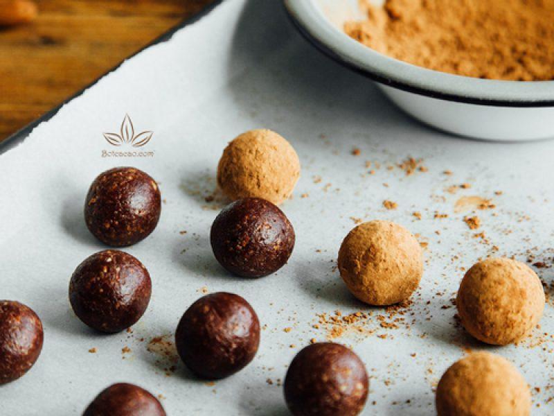 Làm kẹo chocolate hạnh nhân tại nhà từ ca cao