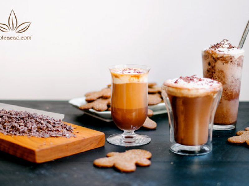 Biến tấu lạ: Pha cacao sữa theo 3 cách trong 5 phút