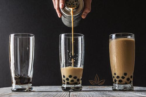 trà sữa trân châu socola